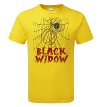 Load image into Gallery viewer, Black Widow T-Shirt - Scattee