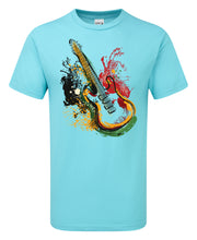 Load image into Gallery viewer, Guitar Splash Art T-Shirt