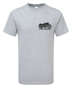 Hand Drawn Cafe Racer T-Shirt