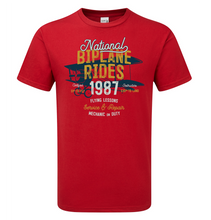 Load image into Gallery viewer, Bi-Plane T-Shirt - Scattee
