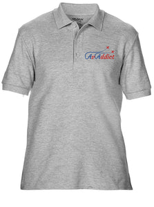 AvAddict Embroidered Aviation Polo Shirt
