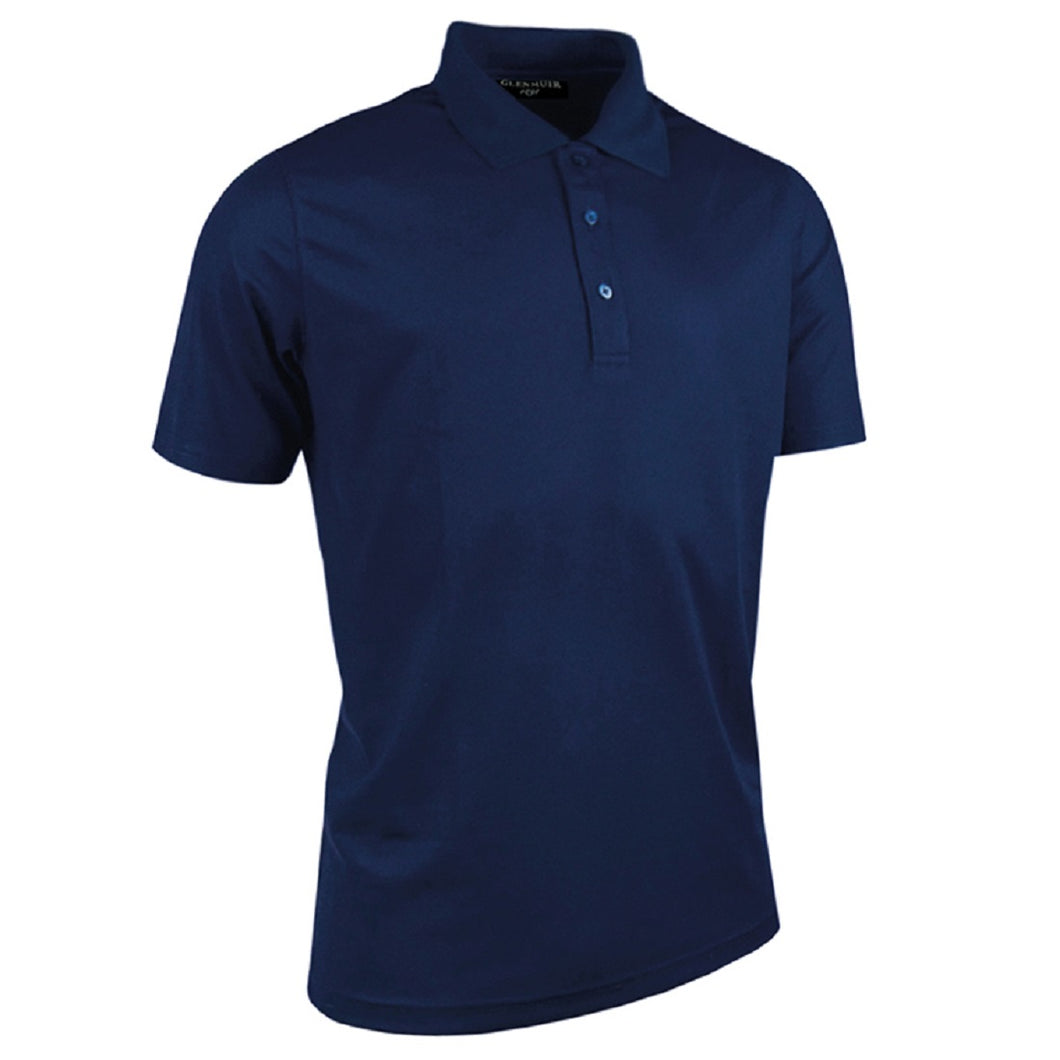 Glenmuir Pique Polo Shirt Navy Blue - Scattee