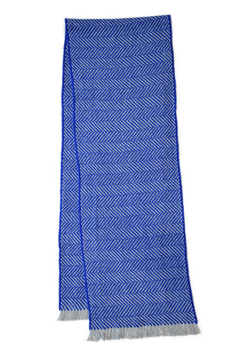 100% Cashmere Chunky Royal Luxury Herringbone Scarf