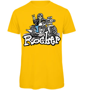 Biker Rocker T-Shirt - Scattee