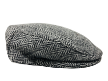 Load image into Gallery viewer, Harris Tweed Herringbone Design Flat Cap