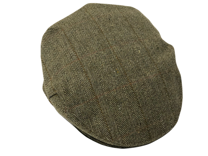 Country Collection Traditional Flat Cap Green