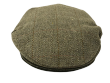Load image into Gallery viewer, Country Collection Traditional Flat Cap Green