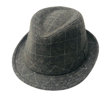 Load image into Gallery viewer, Grey Trilby Hat - Scattee