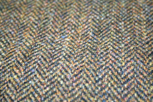 Load image into Gallery viewer, Harris Tweed Cap Brown