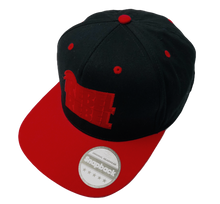 Load image into Gallery viewer, David Bowie Rebel Rebel Snapback Cap - Scattee