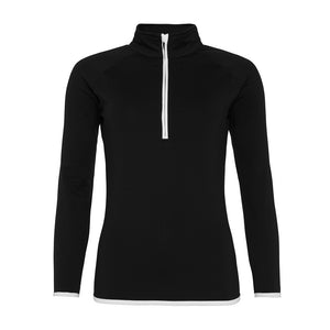 Girlie Cool Fit ½ zip Sweatshirt - Scattee