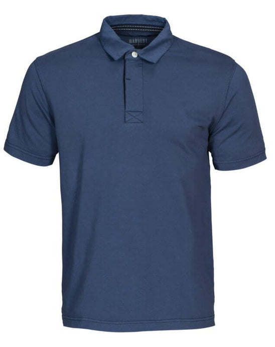 James Harvest Fordham Denim Polo Shirt
