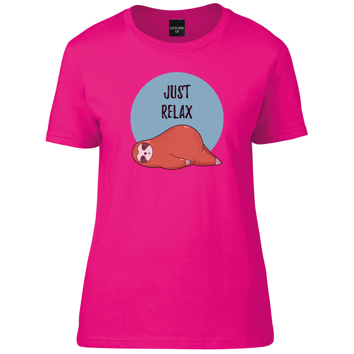 Sloth Just Relax T-Shirt