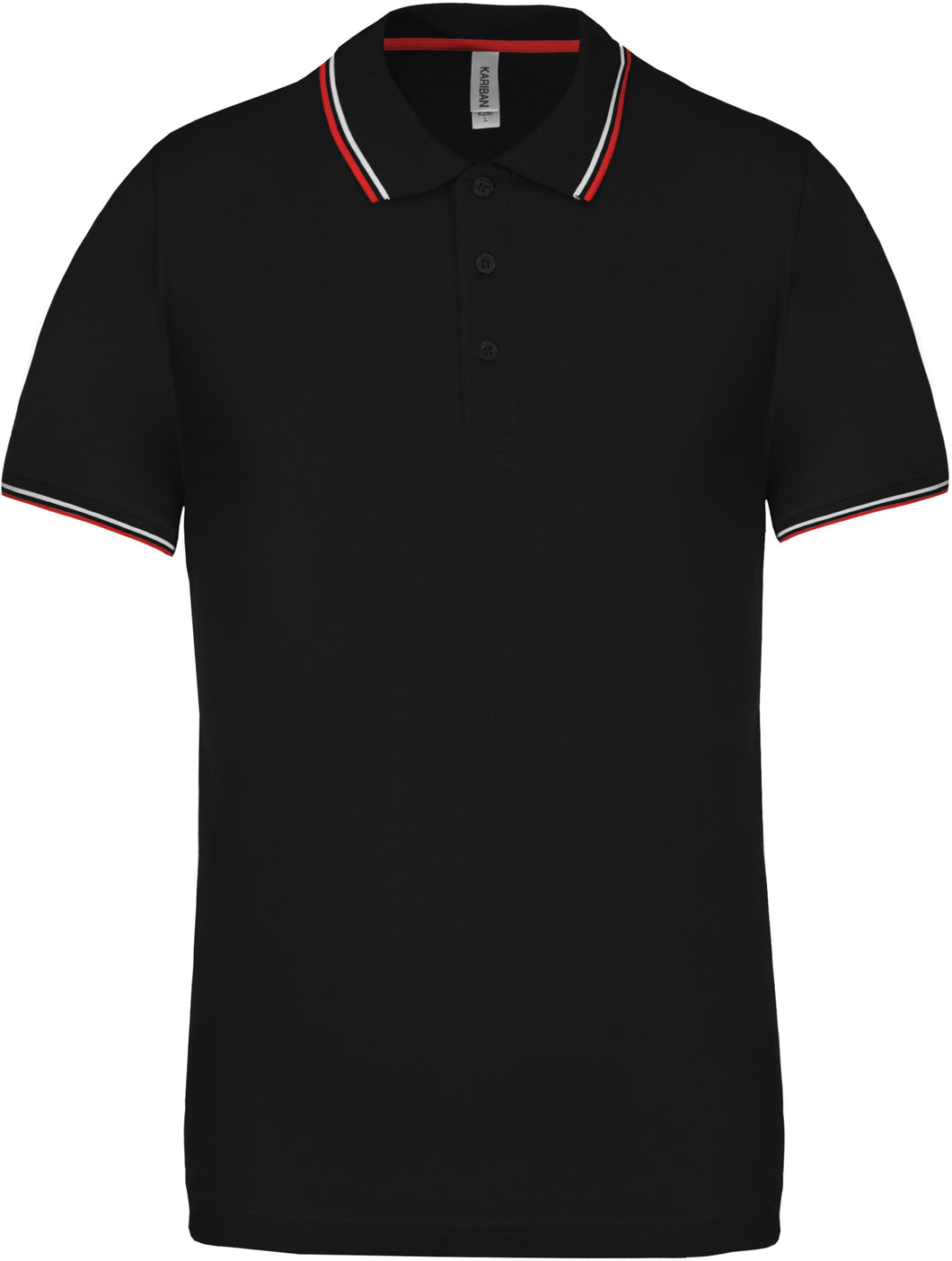 Kariban Short sleeve polo shirt Black