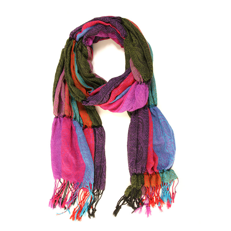 Jenna Patch Pasiley Scarves - Scattee