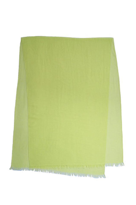 Lime Sorbet Stole Cashmere