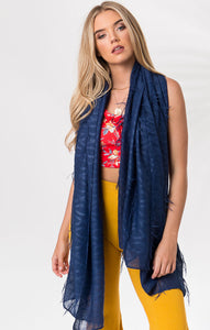 Lightweight Chic Melina Scarf Blue