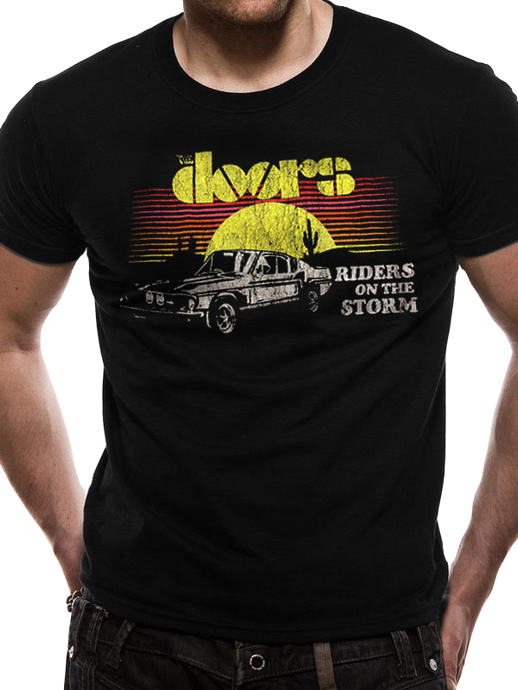 The Doors Riders Car T-Shirt - Scattee