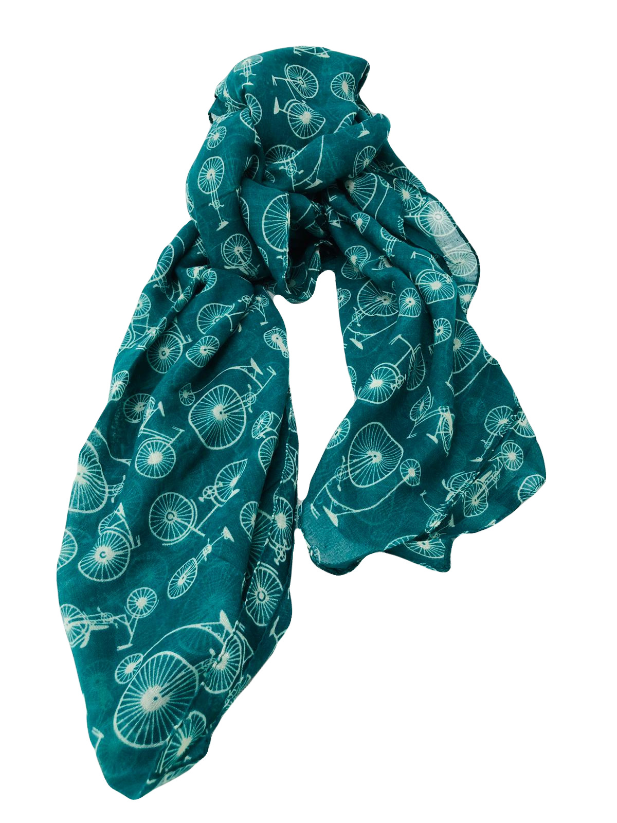 Velo Cycling Scarf Green - Scattee