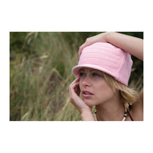 Load image into Gallery viewer, Esco Urban Pink Peaked Cap - Scattee