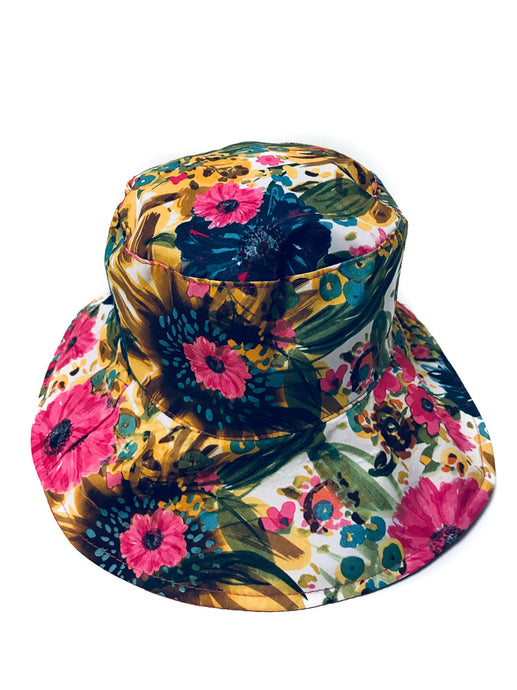 Floral Reversible Summer hats - Scattee