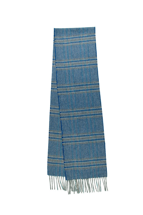 100% Cashmere Blue River Tweed Scarf