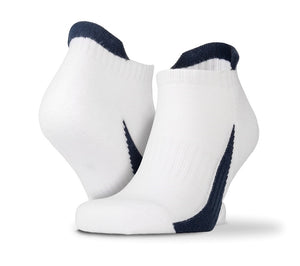 Sipro 3-pack sports sneaker socks White Navy - Scattee