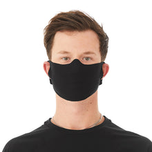 Load image into Gallery viewer, Lightweight Black Face Mask Pack of 5
