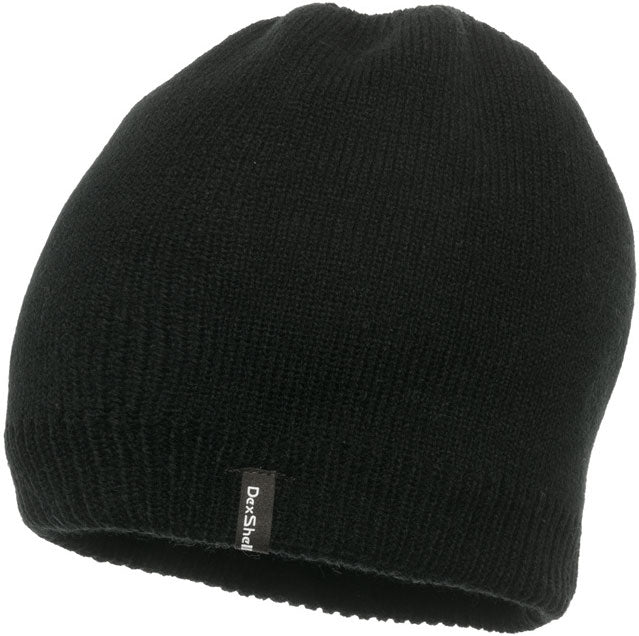 Dexshell Beanie Hat Solo Black Waterproof Windproof Breathable One Size