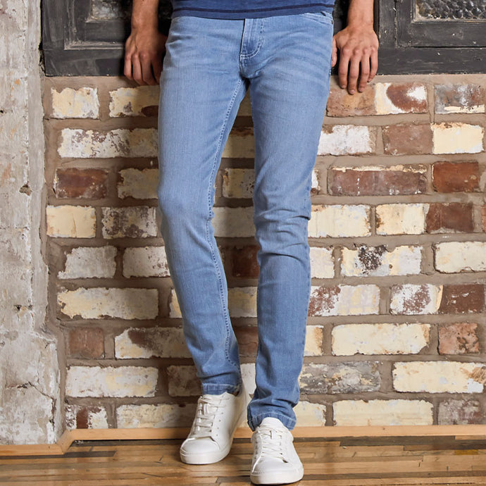 Denim Max Slim Jeans Light Blue