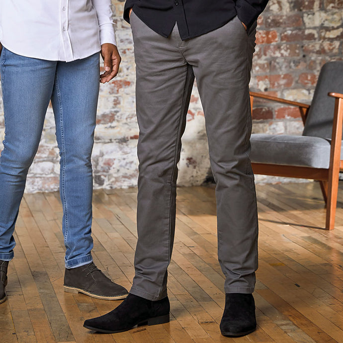 Slim Fit Chinos Slate Grey