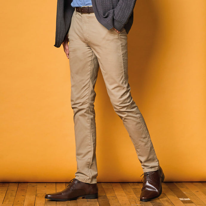 Slim Fit Chinos Stone