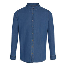 Load image into Gallery viewer, Jack Denim Shirt Dark Blue - Scattee