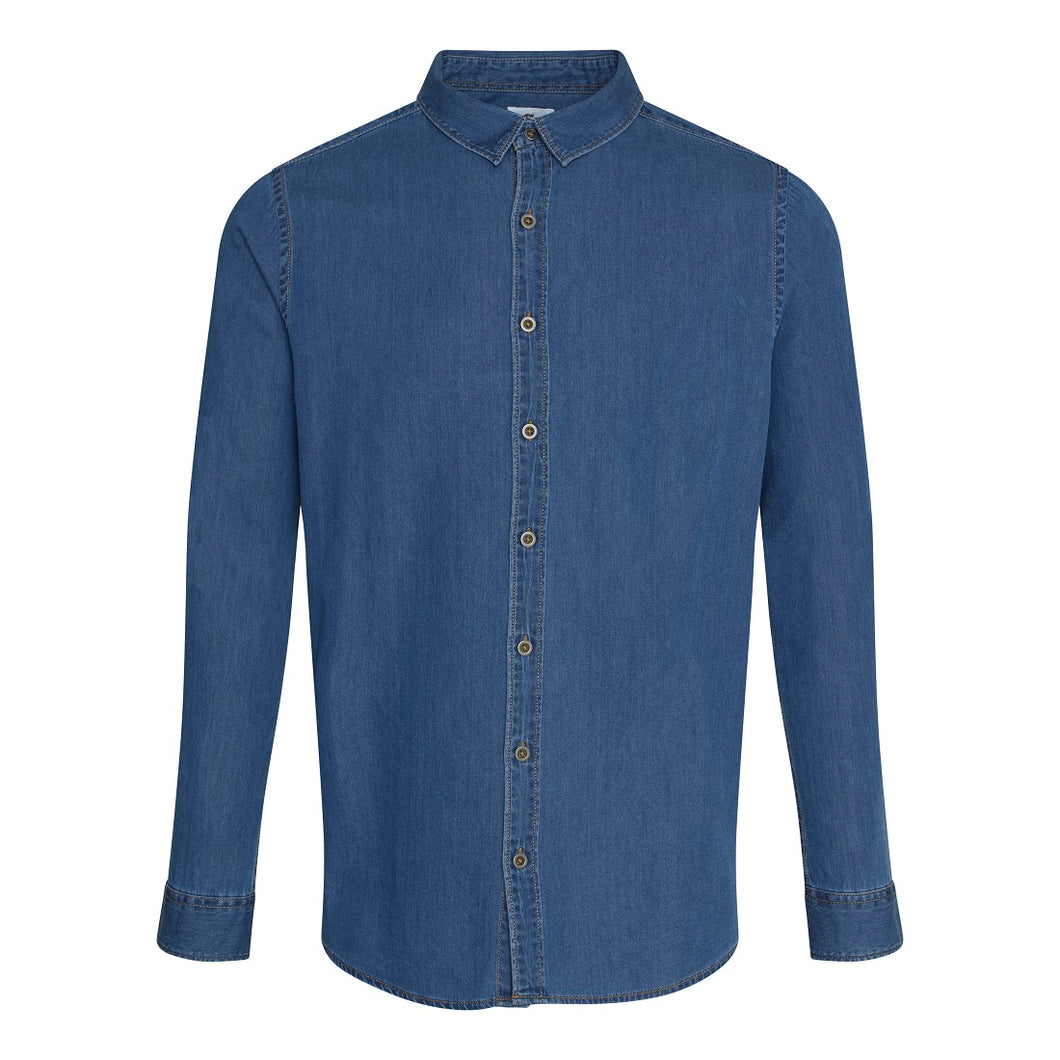 Jack Denim Shirt Dark Blue - Scattee