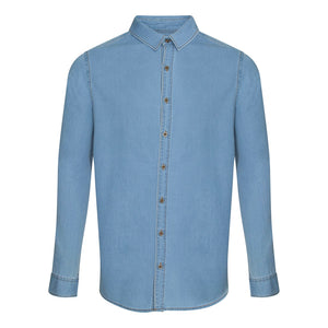 Jack Denim Shirt Light Blue - Scattee