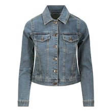 Load image into Gallery viewer, Olivia Denim Jacket Light Blue - Scattee