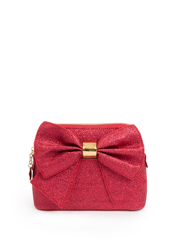 Soho Glitter Bag Red