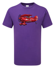 Load image into Gallery viewer, Aerobatic Pitts Cartoon T-Shirt - Scattee