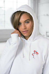 White Hoodie by Stitched Up Sports - Scattee