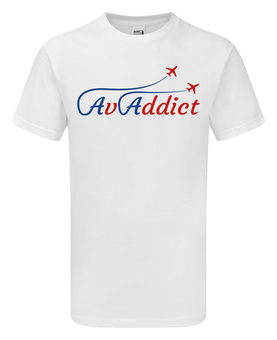 AvAddict Aviation T-Shirt - Scattee