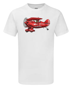 Aerobatic Pitts Cartoon T-Shirt - Scattee