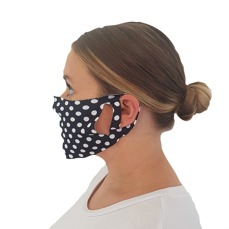 Polka Dot Face Mask Pack of 3