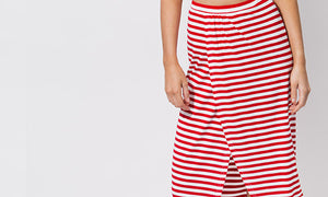 Allure Maxi Skirt Red/White