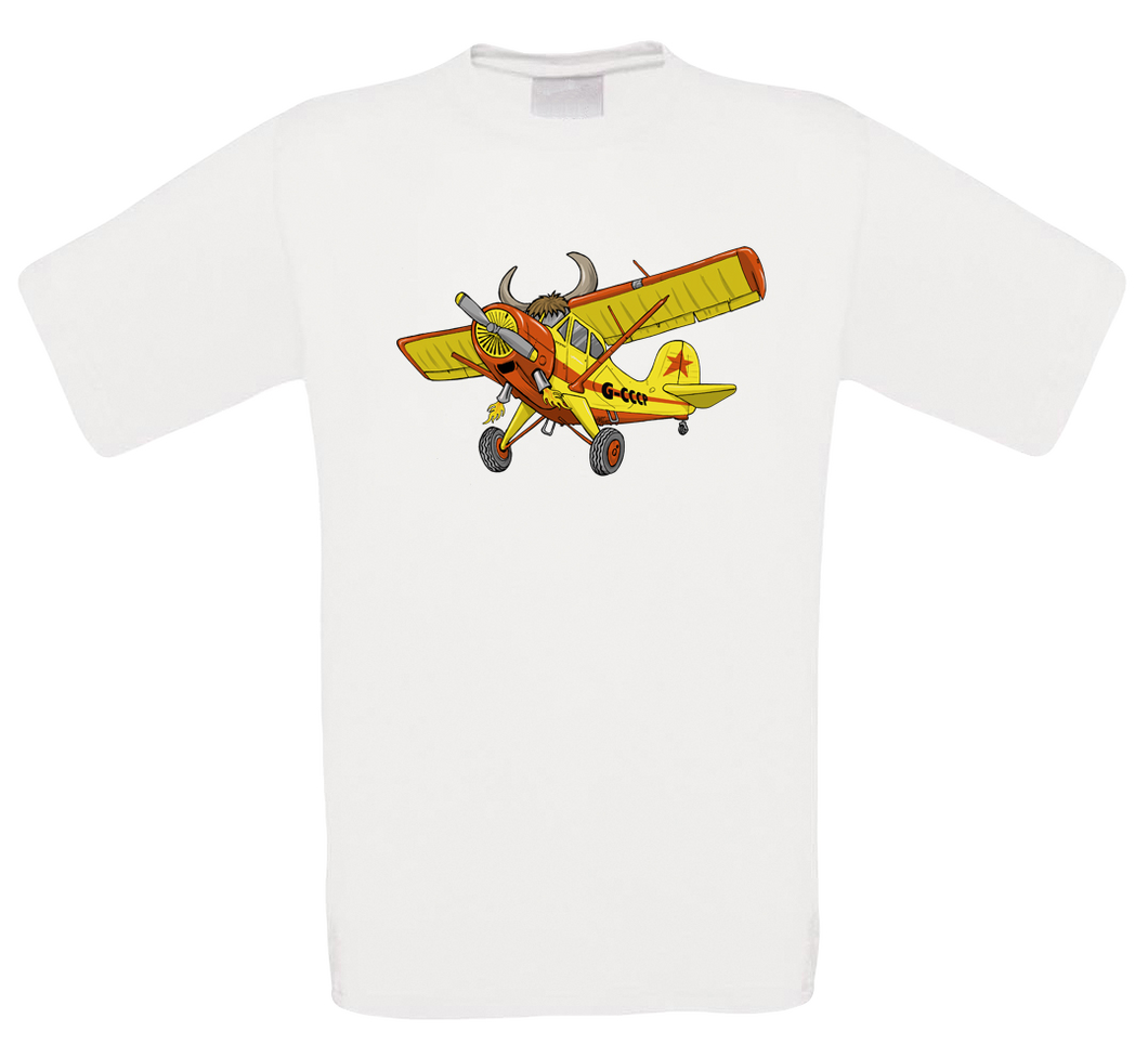 Yak-12 Cartoon T-Shirt