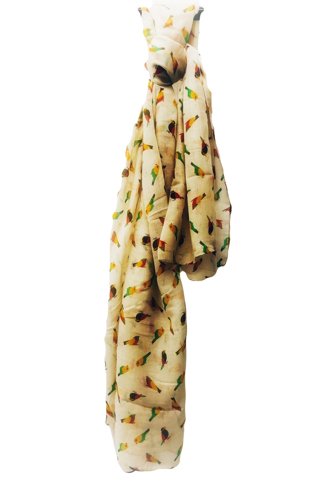 Bird Printed Scarf - Scattee