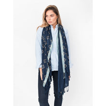 Load image into Gallery viewer, Diamante Diamond Print Jada Scarf