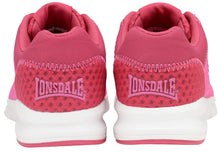 Load image into Gallery viewer, Lonsdale Tydro Trainers Pink and Beetroot
