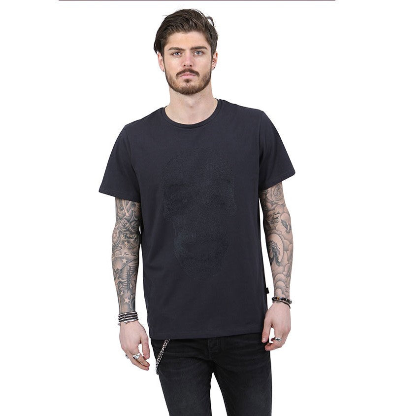 Junq Couture® Mendes T-Shirt Navy - Scattee