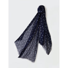 Load image into Gallery viewer, Mercedes Scarf Nautical Blue - Scattee