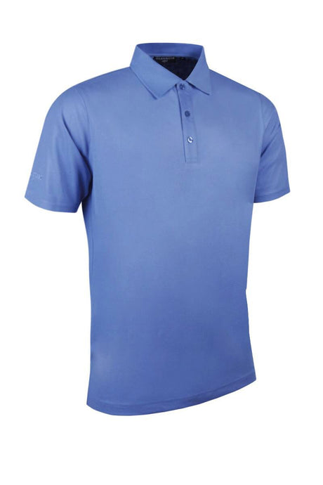Glenmuir Pique Polo Shirt Light Blue